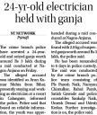 24 yr old electrician held with ganja.jpg -