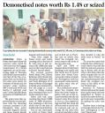 Demonetised notes worth Rs 1.148 cr seized.jpg -