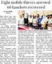 Eight mobile thieves arrested, 60 handsets recovered.jpg -