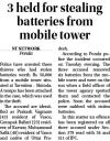 3 held for stealing batteries from mobile tower.jpg -