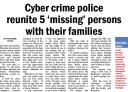Cyber crime police reunite 5 missing persons with tier families.jpg -