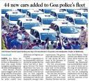 44 new cars added to Goa police's fleet.jpg -
