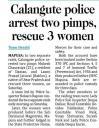 Calangute police arrest two pimps, rescue 3 women.jpg -