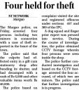 Four held for theft.jpg -