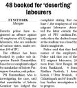 48 booked for deserting labourers.jpg -