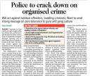 Police to crack down on organised crime.jpg -