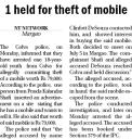 1 held for theft of mobile.jpg -