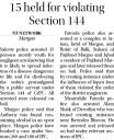 15 held for violating section 144.jpg -