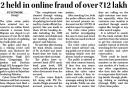 2 held in online fraud of over Rs. 12 lakh.jpg -