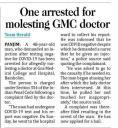 One arrested molesting GMC doctor.jpg -